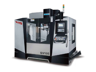 Pinnacle QV/SV Series Box Guide Way Vertical CNC Machining Centres