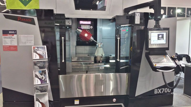 5 Axis Machining Centre Pinnacle BX700 Front