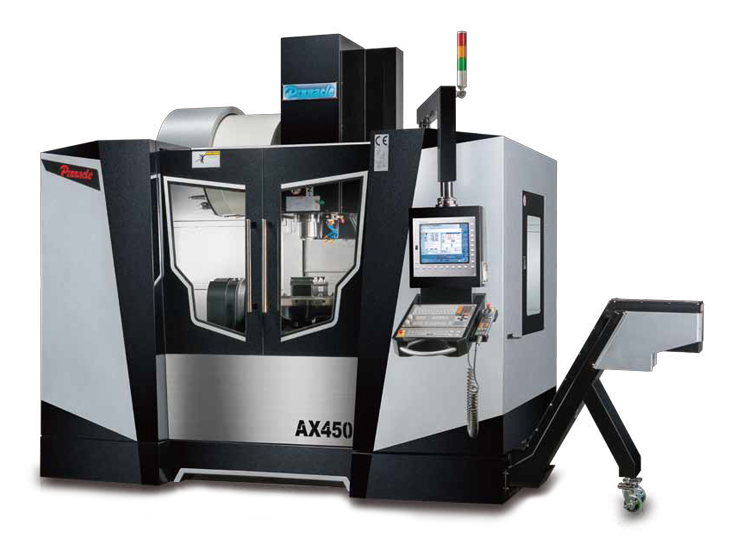 Trunion 5 Axis CNC Machining Centre - Pinnacle AX450