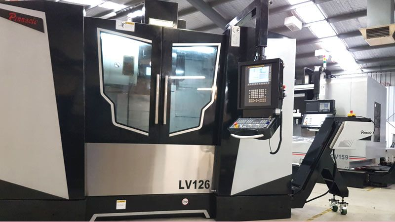 Linear Guide Way Vertical CNC Machining Centre Pinnacle LV126