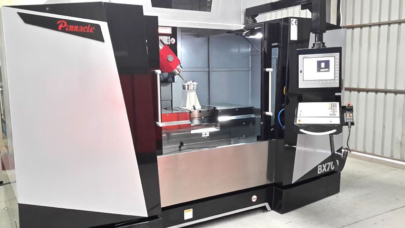 5 Axis Machining Centre Pinnacle BX700 Angle