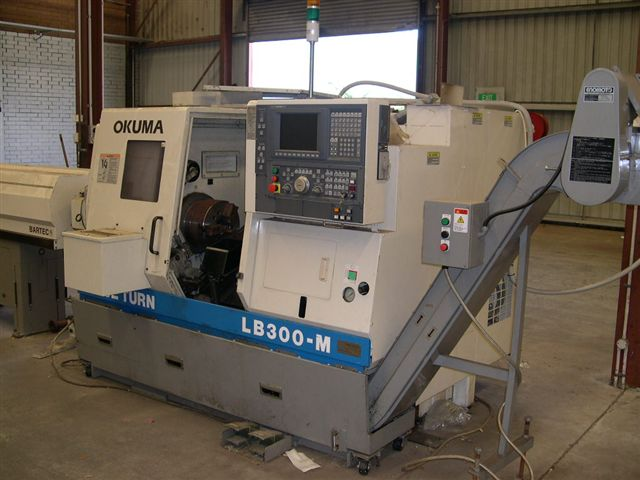 Okuma LB300M CNC Lathe with Milling :: BDMS - CNC MACHINERY