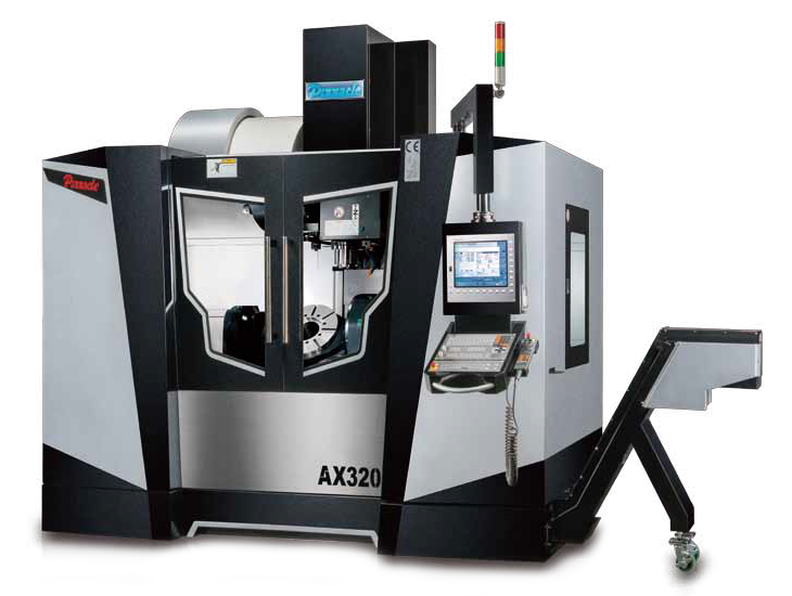 Trunion 5 Axis CNC Machining Centre - Pinnacle AX320