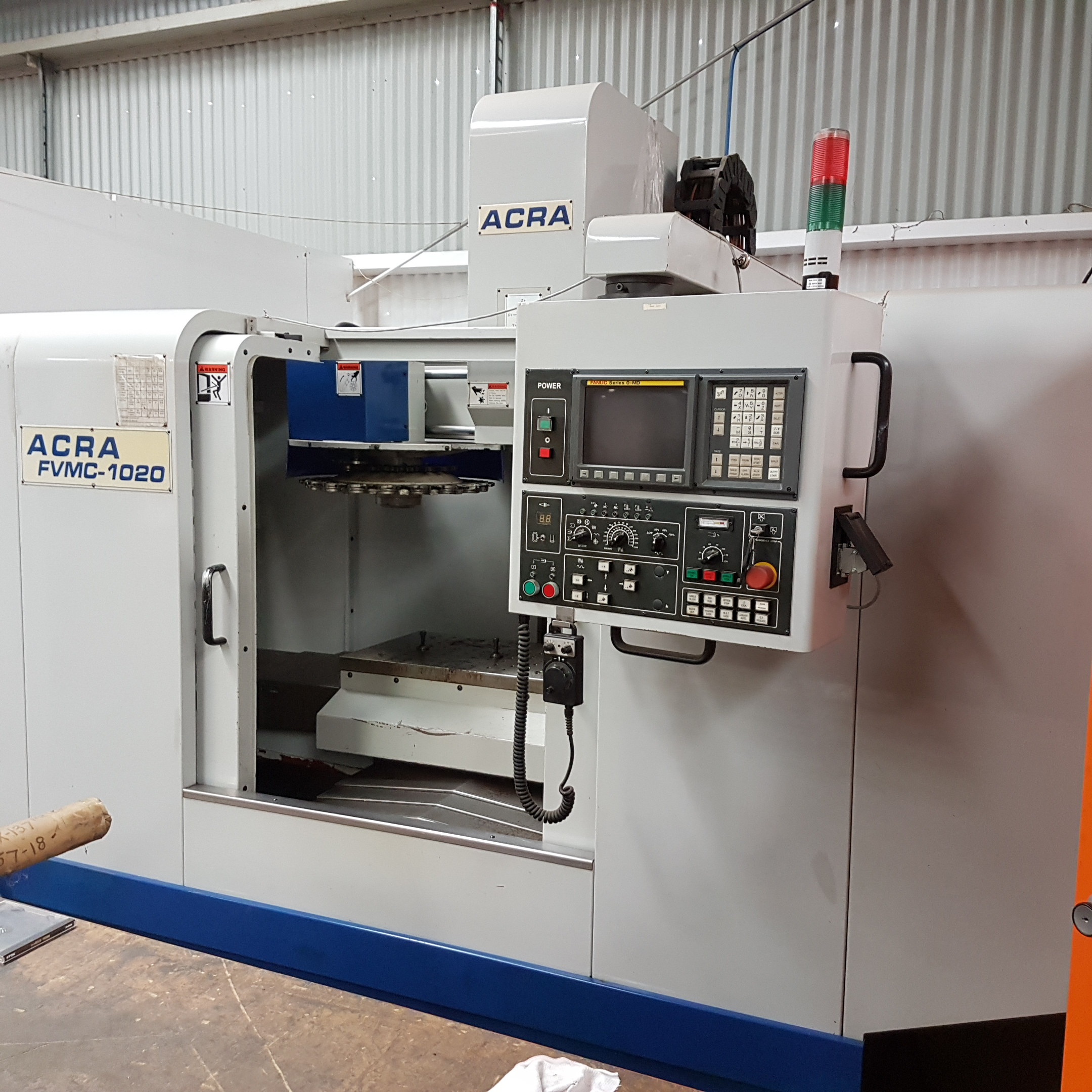ACRA FVMC1020 Vertical Machining Centre