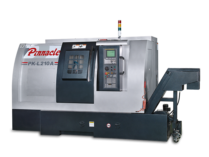 Multi-Axis CNC Lathe - Pinnacle PK L210A CNC Turning Centre