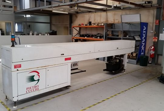 Pietro Cucci MC C Bar Feeder Machine